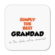 Simply The Best Grandad Coaster (in the whole entire universe!) by MugBug