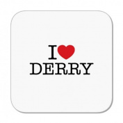I Love Derry Coaster by MugBug