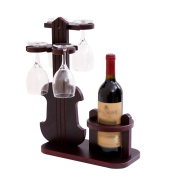 DZW Shelf Creative red wine stand glass stand upside down wine bottle shelf wine rack Decoration home, 33*18*42cm.Simple