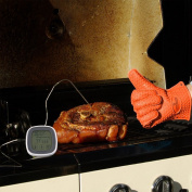 Food Thermometer, Outgeek Portable Touch Screen Digital Meat Food Thermometer with Probe