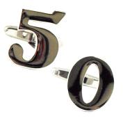 Number 50, 50th Birthday Gift Cufflinks