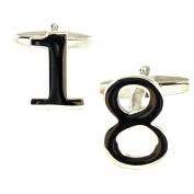 Number 18, 18th Birthday Gift Cufflinks