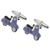 CUFF IT Mens Motorcycle Cuff Links Electrombile Car for Wedding Business Party with Gift Box