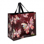 Enesco Allen Deco Bag, Butterfly Design, 46 cm, Multicoloured, 40 x 40 x 46 cm