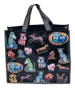 Enesco Allen Deco Bag, Drawing, Dog, 46 cm, Multicoloured, 40 x 40 x 46 cm
