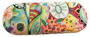 Enesco Allen Deco Mobile Micro Fabric Glasses, Flower Design, 16, PVC, multicoloured, 6 x 6 x 16 cm