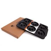CAN_Deal Carbon Steel 6 Cavity Donut Pan, Non Stick Regular Donut Pan