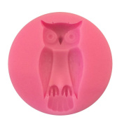 Cdet 1X Cake Mould Round Owl Muffin Cups Soap Moulds Biscuit Chocolate Ice Cake Baking Mould Cake Pan