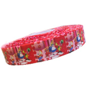 2m x 22mm DISNEY ALICE IN WONDERLAND GROSGRAIN RIBBON FOR CAKE'S BIRTHDAY CAKES GIFT WRAP WRAPPING RIBBON HAIR BOWS CARDS CRAFT SHOELACES