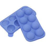 Espeedy 8 Cavity Silicone Tray Mould Chocolate Cake Candy Lollipop Jelly Mould DIY Tools