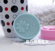 Clest F & H Clover Waiting for live Food-grade Silicone Cake Decoration Mould Soap Mould Fondant DIY Baking Tools