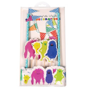 Monsters Of The World Cake Bunting