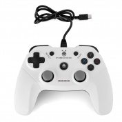 VBESTLIFE Rotatable USB Wired Game Pad Controller Gamepad Joystick for Windows PS3 Android
