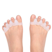 Silicone 5-Toe spacer | Gel Toe Separator Bunion Guard| Pain relief and Foot Rejuvenation