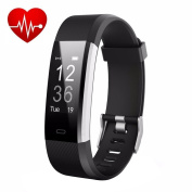 Fitness Tracker ANEKEN Smart Bracelet Tracker with Heart Rate Monitor Activity Tracker Bluetooth Pedometer with Sleep Monitor Smart Watch for iPhone Android Smartphones