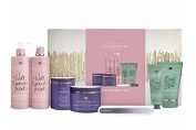 Champneys Spa Treatment Time Gift Set Shower Gel Body Lotion Bubble Bath Souffle Foot Butter