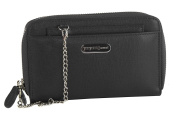 Wallet woman YY COVERI black compact with opening zip