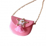 super1799 Lovely Girl Bowknot Decor Faux Leather Shoulder Cross Body Mini Bag Gift - 4#