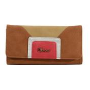 CHARRO Women's Wallet Brown Leather