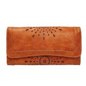 BIUBIUboom Women's Vintage Faux Leather Wallet Clutch Card Holder Ladies Purses