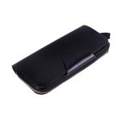 BIUBIUboom Women's Card Holder Faux Leather Wallet Zipper Ladies Clutch Purse