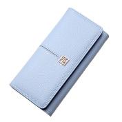 XNTBX Women's Leather Wallet Bifold Multi Card Case wallet Clutch Long Purse