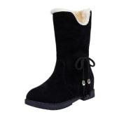 Women's Boots, Toamen Snow Boots Winter Tassel Ankle Boots Women Shoes Heels Winter Boots Fashion Shoes