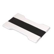 Card Cases,Card Holder ,Wallet ,RFID Credit Card Holder ,RFID Blocking Money Clip Aluminium Card Case ,TUDUZ Men Metal Wallet Credit Card Holder Aluminium Money Clip Wallet With Blocking
