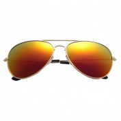Toamen Men Womens Fashion Classic Metal Designer Sunglasses Polarised - UV 400 Protection