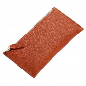 Boshiho Women's Genuine Leather Wallet Large Capacity Zipper Clutch Bag