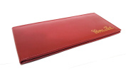 AKSHIDE Leather Cheque Book Holder /Leather Cheque Book Cover/Leather Cheque Book Wallet