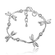 Gifts for Women Silver Plated Bracelet Exquisite & Fancy Design for Girls