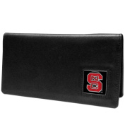 NCAA North Carolina State Wolfpack Leather Chequebook Cover