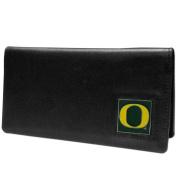 NCAA Oregon Ducks Leather Chequebook Cover