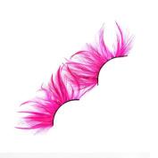 MENRY Pink Feather Series Fake Eyelash Makeup Ball Special Fake Eyelashes