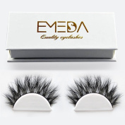 3D Individual lashes Fake Eyelashes 1 pair 3D Natural False Eyelashes Thick Lashes Long Natural Eyelashes for Beauty