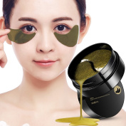 OYOTRIC Black Pearl & Gold Eye Care Moisturising Mask Eye Pads To Remove The Black Eye Bags Under Eye Lines, Anti-wrinkle, Anti-Ageing
