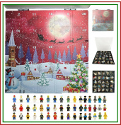 . Minifigure Lego City Mini Figure Toy Advent Calendar