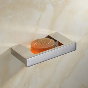 XY & XH Soap Dish Holder, Soap Dish , Contemporary Mirror Polished Wall Mounted