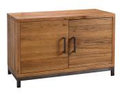 Abbey Industrial Oak Sideboard / Standard Oak Cupboard / 2 Door Dining Furniture