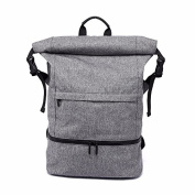 Multi functional Travel Training backpack with large capacity ,grey