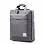 Waterproof Canvas Backpack Bag for men and women,Student Travel Bag,grey