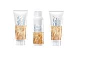 Avon Brown Sugar Footworks Pack including Exfoliating Scrub, Moisturising Cream, Relaxing Soak