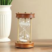 European-style Plexiglas hourglass 60[Minute] 30 minutes timer Creative living room study decorative ornaments-B