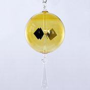 Lupi Solar-Powered Radiometer to hang 100 mm with drop yellow