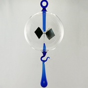 Lupi Solar-Powered Radiometer to hang Drop with Clear 100 mm it Blue
