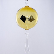 Lupi Solar-Powered Radiometer to hang 80 mm with drop yellow