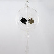 Lupi Solar-Powered Radiometer to hang 100 mm with Clear Glass Drops