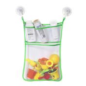 Baby Bath Toy Hanging Bag Organiser Mesh Net Storage Bag Organiser Toy Storage Bag for Bathroom Kootk