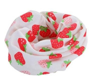 Jellbaby New double-sided cartoon cotton collar baby Korean men and women hedging children's scarves